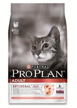 PRO PLAN CAT ADULT Salmon Корм сухой для кошек с Лососем 400 г. (45941)